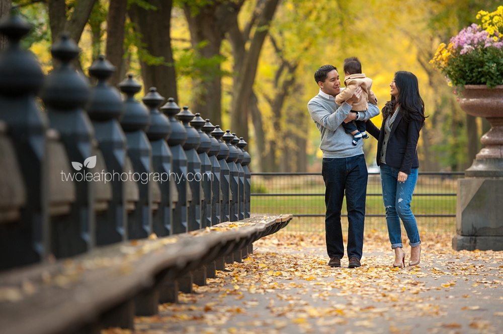 Nyc Central Park Family Portrait Photographer Fall